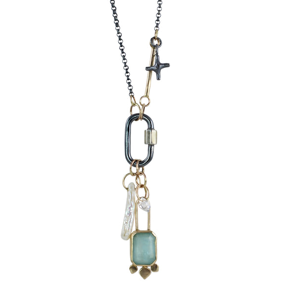 Of Sea & Sky Talisman Necklace