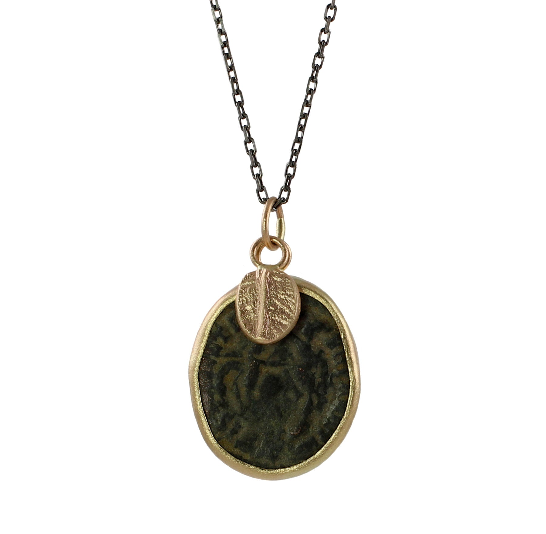 augustus bondanza raine coin by roman michael turgeon divus product necklace