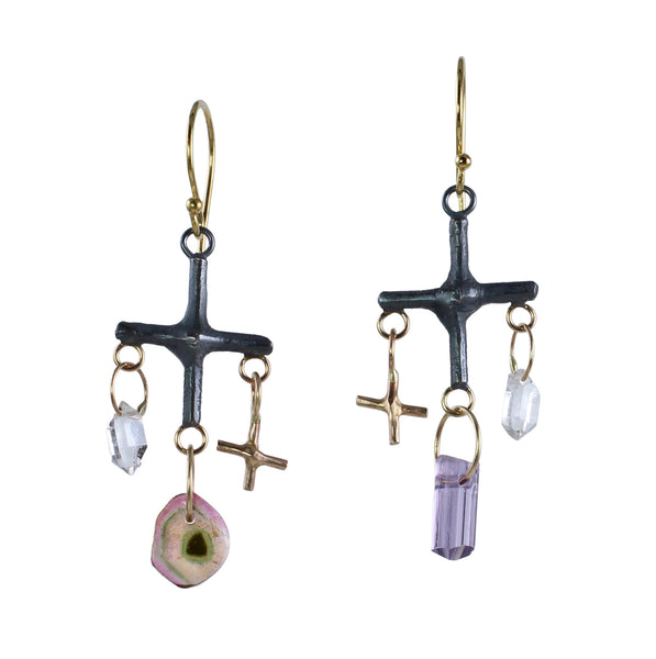 Gems & Good Juju Chandelier Earrings