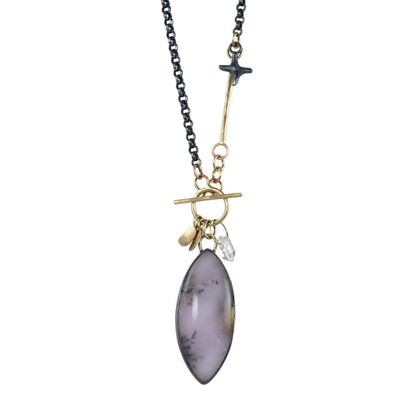 Dendritic Opal Shimmer Necklace