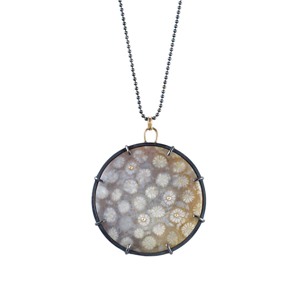 Fossilized Coral Necklace