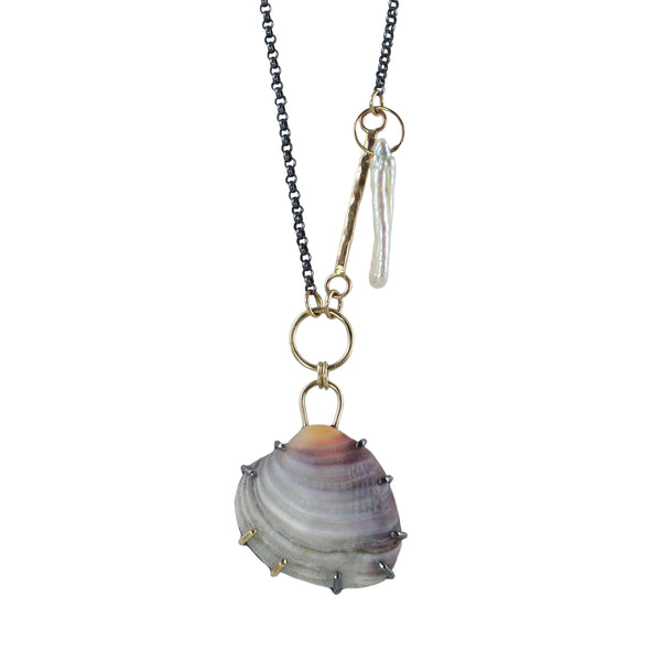 Take Me To The Sea Talisman Necklace