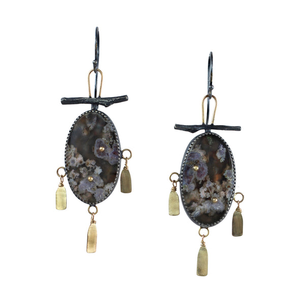 Let Nature Be Your Temple Earrings