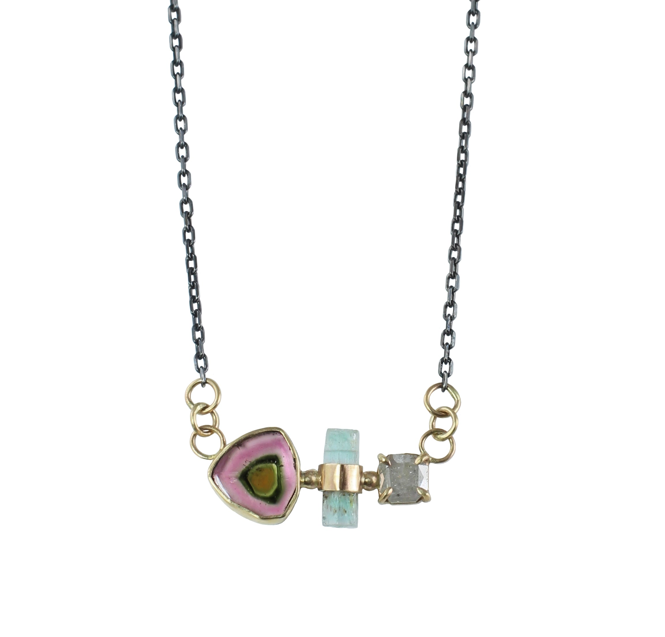 Gemmy Trio Necklace