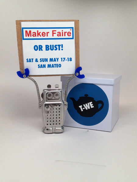 T-WE TEA at Maker Faire 2014