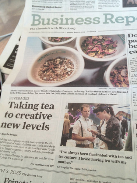T-WE TEA Pops Up All Over the Bay Area Media
