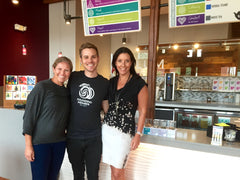 Plum Yoga Dallas T-WE TEA Christopher Coccagna Rose Fitzgerald and Charry Morris