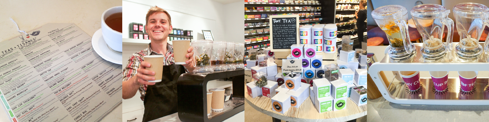 T-WE TEA Wholesale options, Pour Over Tea Bar, Tea Menu, Tea Service