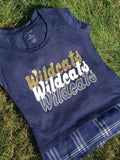 Shenango Wildcats Sorority Chic Top