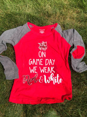 Neshannock Lancers On Game Day Tee