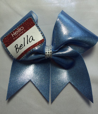Name Tag Bow