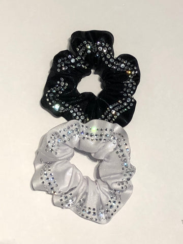 Rhinestone Band Scrunchie