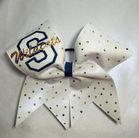 Shenango Wildcats Full Bling Bow