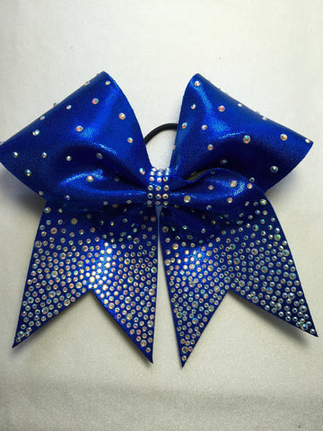 Bottoms Up Ombre' Rhinestone Bow