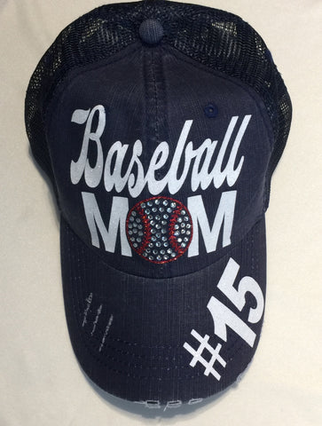 Baseball Mom Hat