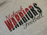 Mohawk Warriors Split Logo