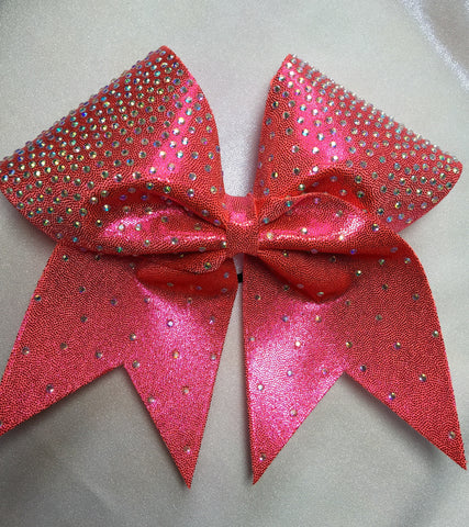Ice Crystal Ombre' Rhinestone Bow