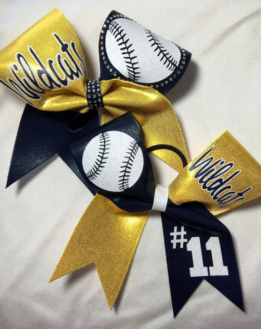 Wildcats Baseball/Softball Bow