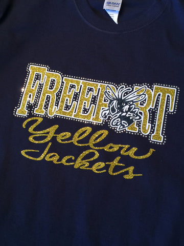 Freeport Yellow Jackets tee or hoodie