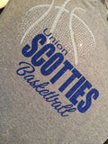 Union Scotties Basketball Tee