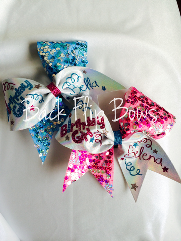 Birthday Girl Bow