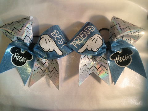 Best Friend Mouse Head Bows