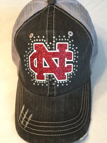 New Castle Red Hurricanes NC hat