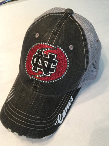 New Castle Red Hurricanes Hat