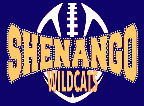 Shenango Wildcats Ladies & Youth Vintage Football Tee