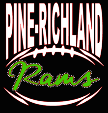 Pine-Richland Rams Football Tee or Hoodie