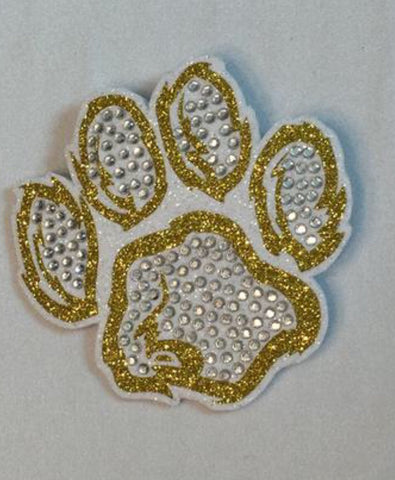 Shenango Wildcats Pawprint Pin