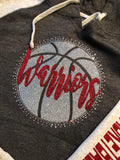 Mohawk Warriors Raglan Basketball Hoodie
