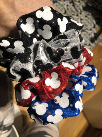 Mouse Head Scrunchie