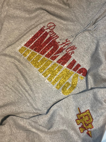 Penn Hills Indians Split Color Logo