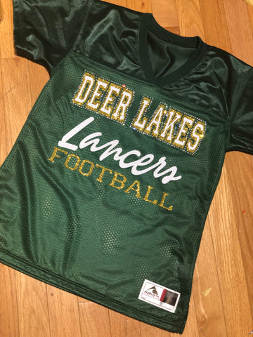 Deer Lakes Replica Football Jersey