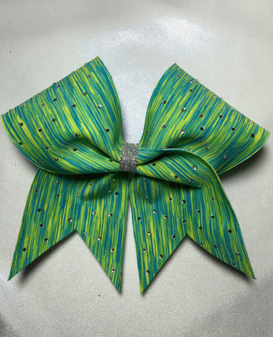 Neon Summer Fun Bow