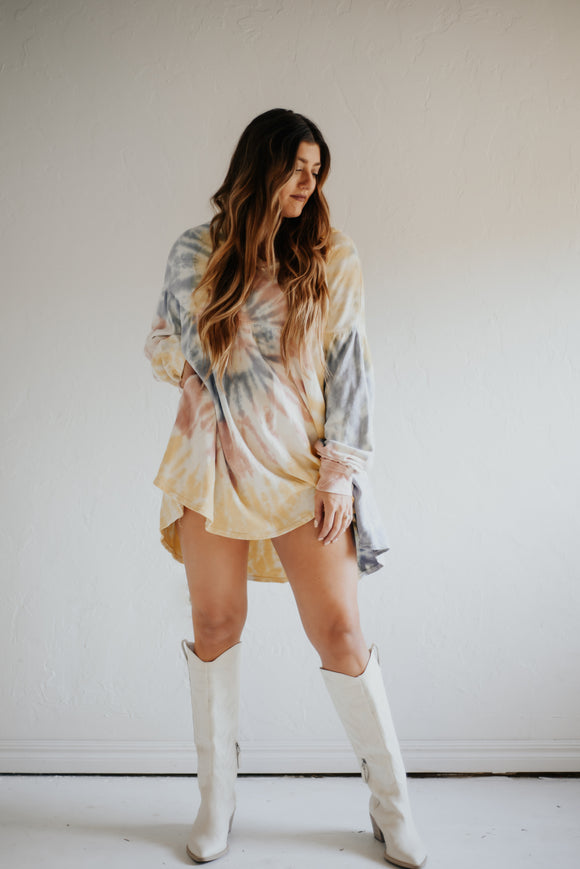 Dazed and Confused Tunic Dress
