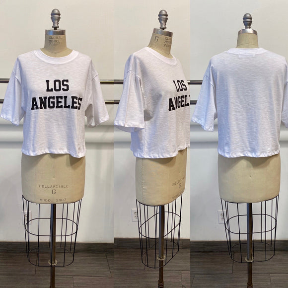 Oversized Los Angeles Tee