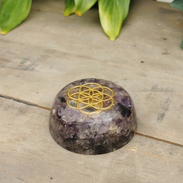 Orgonite Spheres and Weights