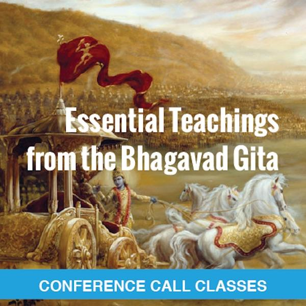 Bhagavad Gita Conference Call Recordings 2015
