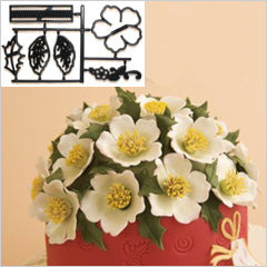 LARGE CHRISTMAS ROSE طقم قطاعات
