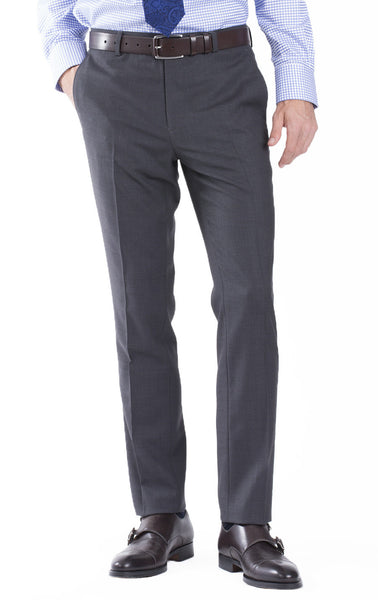 Skinny Fit Sharkskin Hidden Comfort