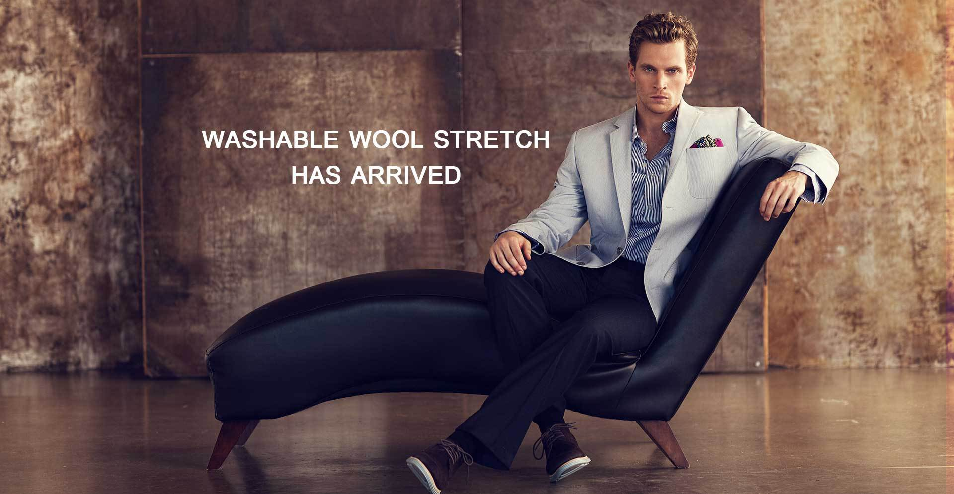Wool Pants Stretch