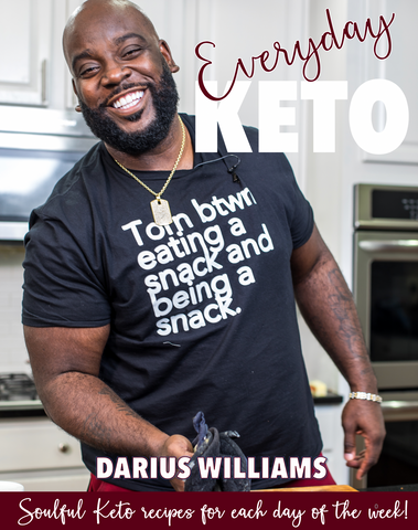PREORDER SHIPS 3/1/19 - Everyday Keto Cookbook - PHYSICAL COOKBOOK