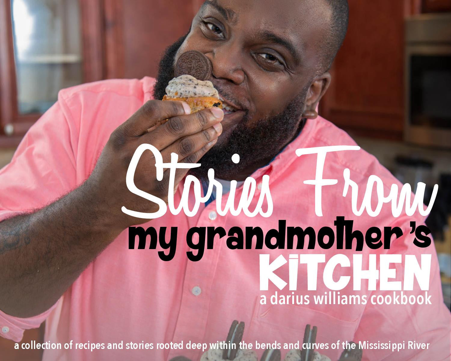 PREORDER - Ships 9/30/20! Stories from My Grandmother's Kitchen Cookbook