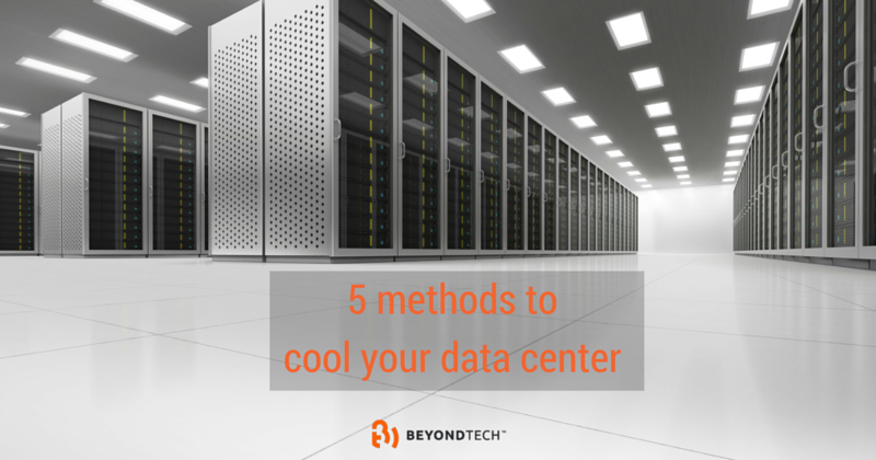 how to cool a data center
