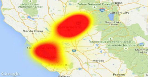 the latest of 14 attacks against californias internet privately run backbone since last summer atts fiber optic