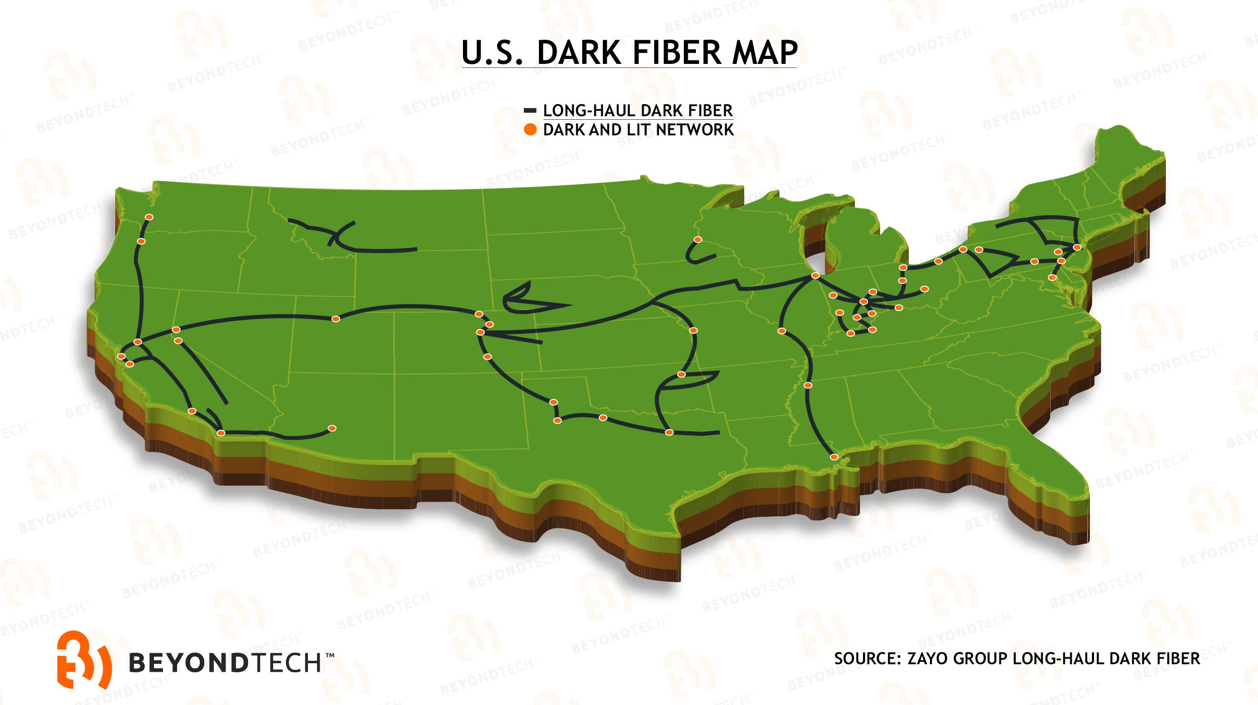 US West Cost Might Have The Slower Internet In US Beyondtech Inc - Us fiber map