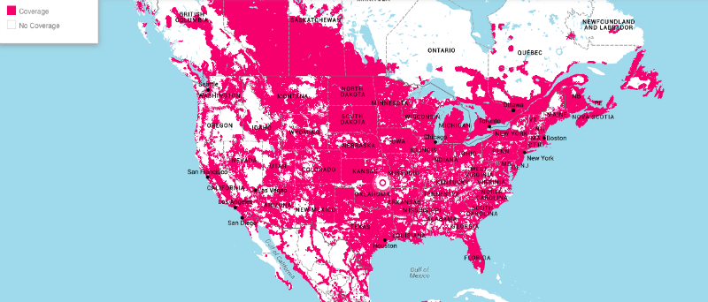 map-t-mobile-tmobile-telecommunications-usa-coverage