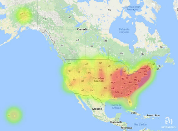 US West Cost Might Have The Slower Internet In US Beyondtech Inc - Us internet speed map